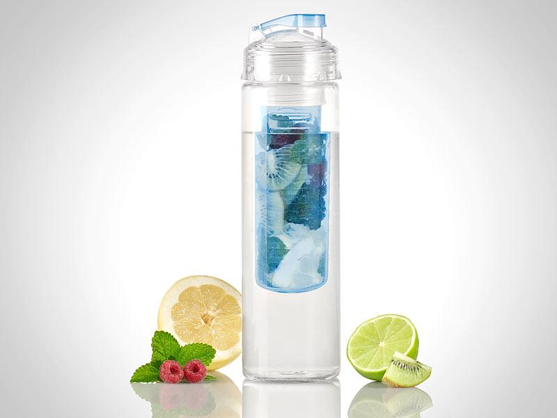Rosenstein Söhne Trinkflasche Wasserflasche Mit Fruchtbehälter