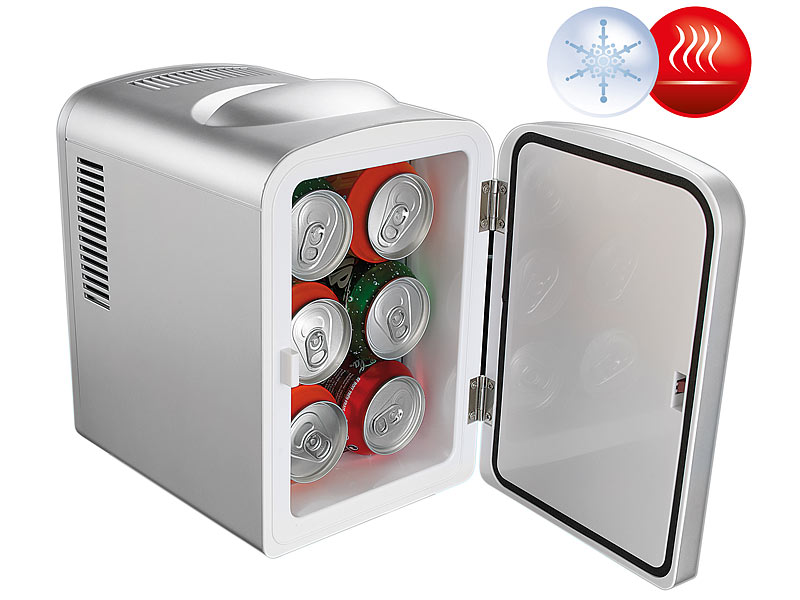 Mini Kühlschrank Für Schreibtisch : Rosenstein & söhne mobiler mini kühlschrank mit wärmefunktion 4