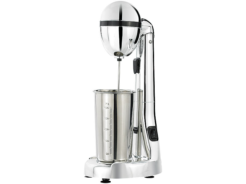 rosenstein s hne elektrischer drink mixer mit edelstahl becher 100 w u min. Black Bedroom Furniture Sets. Home Design Ideas