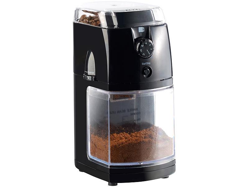 rosenstein s hne elektrische kaffeem hle mit hochwertigem scheibenmahlwerk. Black Bedroom Furniture Sets. Home Design Ideas