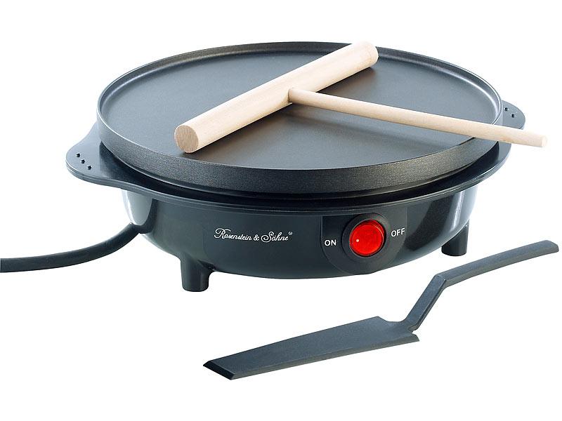 Crepes Maker Elektrischer Medium-Crêpes-Maker Fladen Omelette Waffeleisen