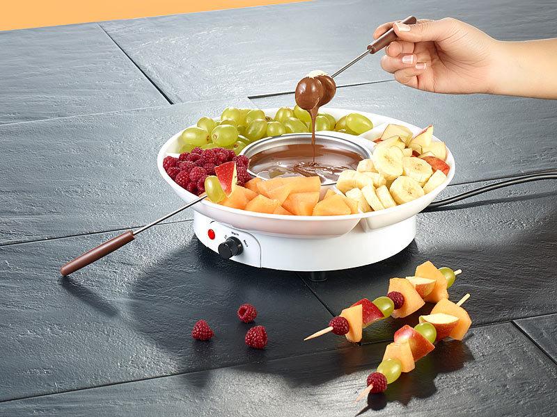 rosenstein s hne elektrisches schokoladen fondue f r 2 personen 15 watt. Black Bedroom Furniture Sets. Home Design Ideas