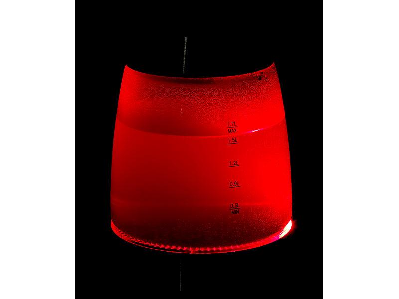 rosenstein & söhne wasserkocher mit temperaturabhängige  ~ Wasserkocher Led Farbwechsel
