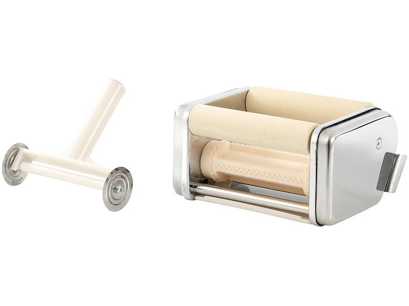 rosenstein s hne nudel maschine nm 100 mit 6 aufs tzen. Black Bedroom Furniture Sets. Home Design Ideas