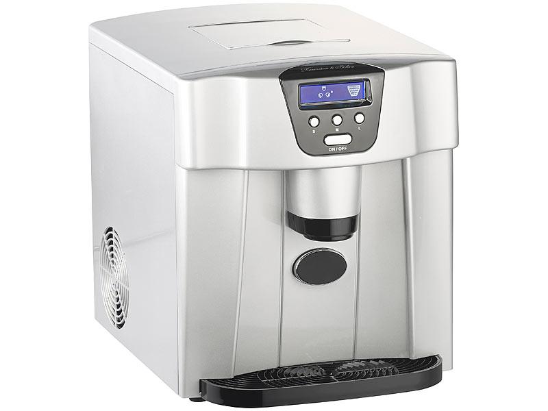 Mini Kühlschrank Mit Eiswürfelspender : Rosenstein & söhne eiswürfelmaschine ews 2100 mit eiswürfelspender