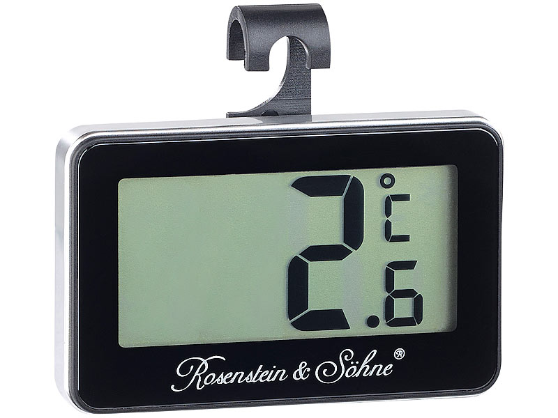 rosenstein s hne digitales gefrier k hlschrankthermometer. Black Bedroom Furniture Sets. Home Design Ideas