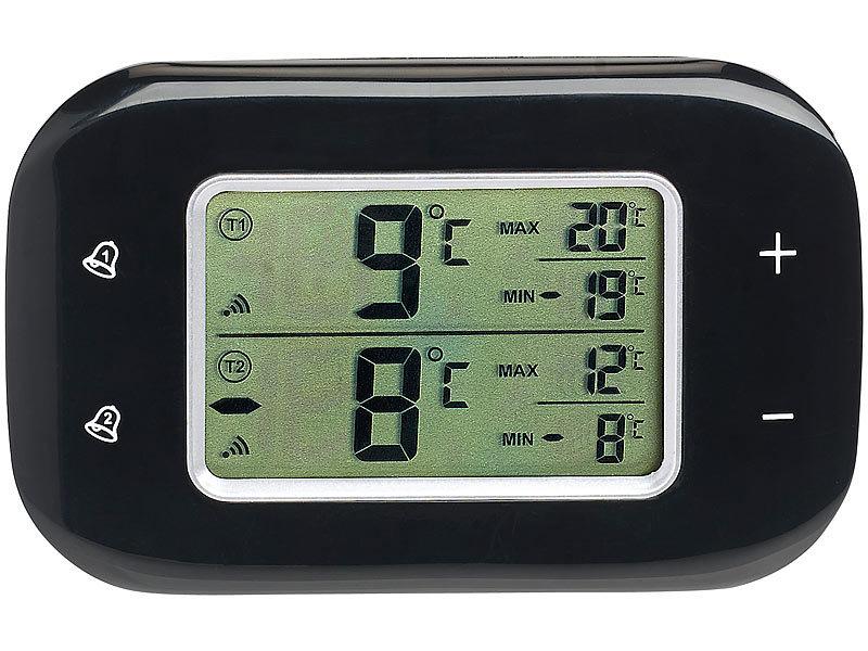 Kühlschrank Thermometer Digital : Rosenstein & söhne digitales kühl & gefrierschrank thermometer 2