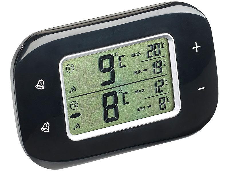 Kühlschrank Thermometer : Rosenstein söhne digitales kühl gefrierschrank thermometer