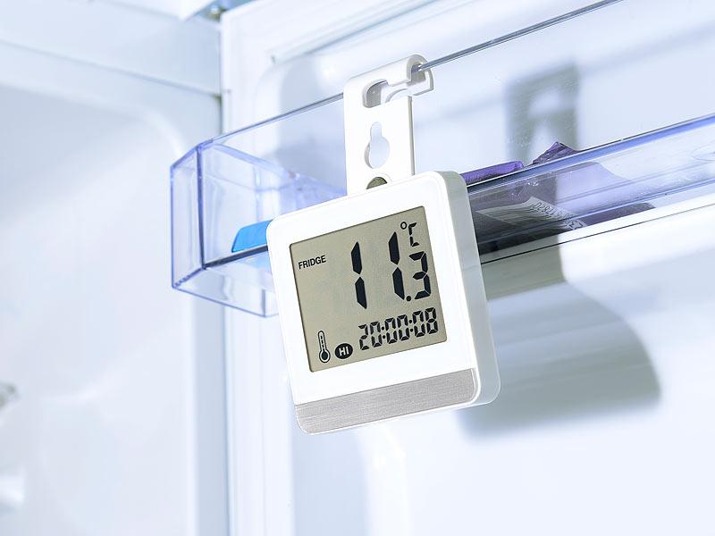 rosenstein s hne thermom tre digital pour r frig rateur cong lateur avec m moire. Black Bedroom Furniture Sets. Home Design Ideas