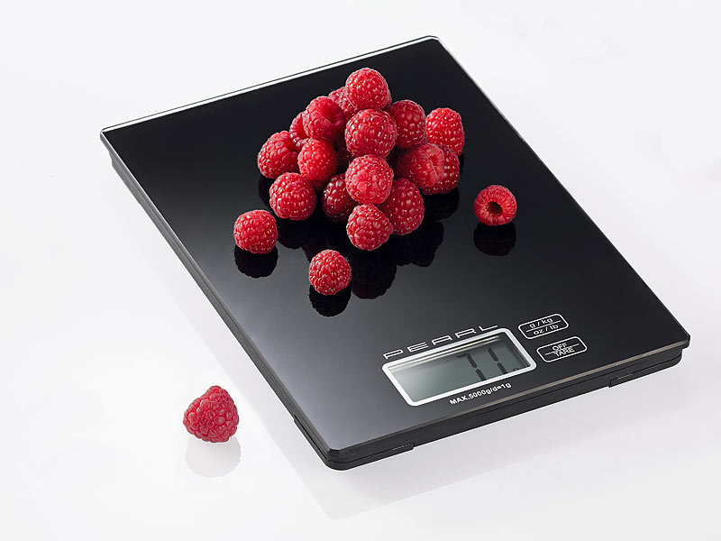 Rosenstein sohne pearl prazise digitalwaage fur kuche for Digitalwaage küche