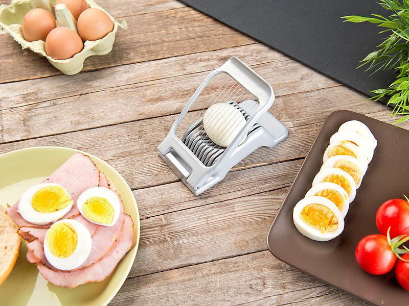1x Eierschneider Eierteiler Teiler Zerkleinerer Tomate Chopper Eierteiler Set