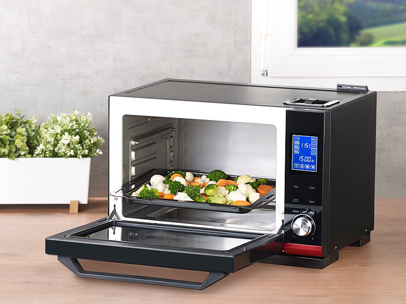 rosenstein s hne mini four 2 en 1 vapeur et chaleur. Black Bedroom Furniture Sets. Home Design Ideas