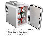 Kleiner Kühlschrank Schweiz : Rosenstein söhne mobiler mini kühlschrank mit wärmefunktion