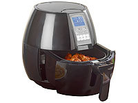 Rosenstein & Söhne Friteuse digitale multifonction à air chaud HF-318.p 1400 W / 8 pro...