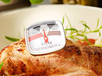 Rosenstein & Söhne 2er-Set Steak-Thermometer