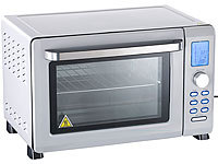 Rosenstein & Söhne Digitaler Mini-Backofen mit Automenüs & Konvektion, 38 l (refurbished)