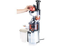 Rosenstein & Söhne Extracteur de jus digital 200 W DSJ-200 pour fruits entiers