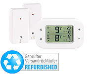 Rosenstein & Söhne Digitales Kühl & Gefrierschrank-Thermometer (refurbished); Wasserkocher mit Temperaturwahl Wasserkocher mit Temperaturwahl